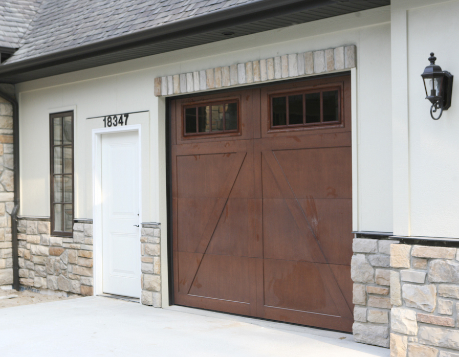garage door home
